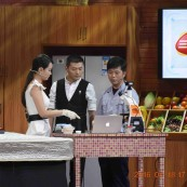 上海点应光学与安徽卫视合作节目录制