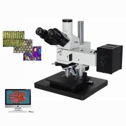 研究级透反射偏光暗场DIC显微镜DYJ-880